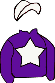 PURPLE, WHITE STAR & CAP