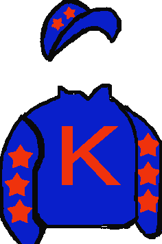 DARK BLUE, RED 'K', RED STARS ON SLEEVES & CAP