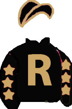 BLACK, GOLD 'R', GOLD STAR ON BLACK SLEEVES, GOLD SEAMS ON BLACK CAP
